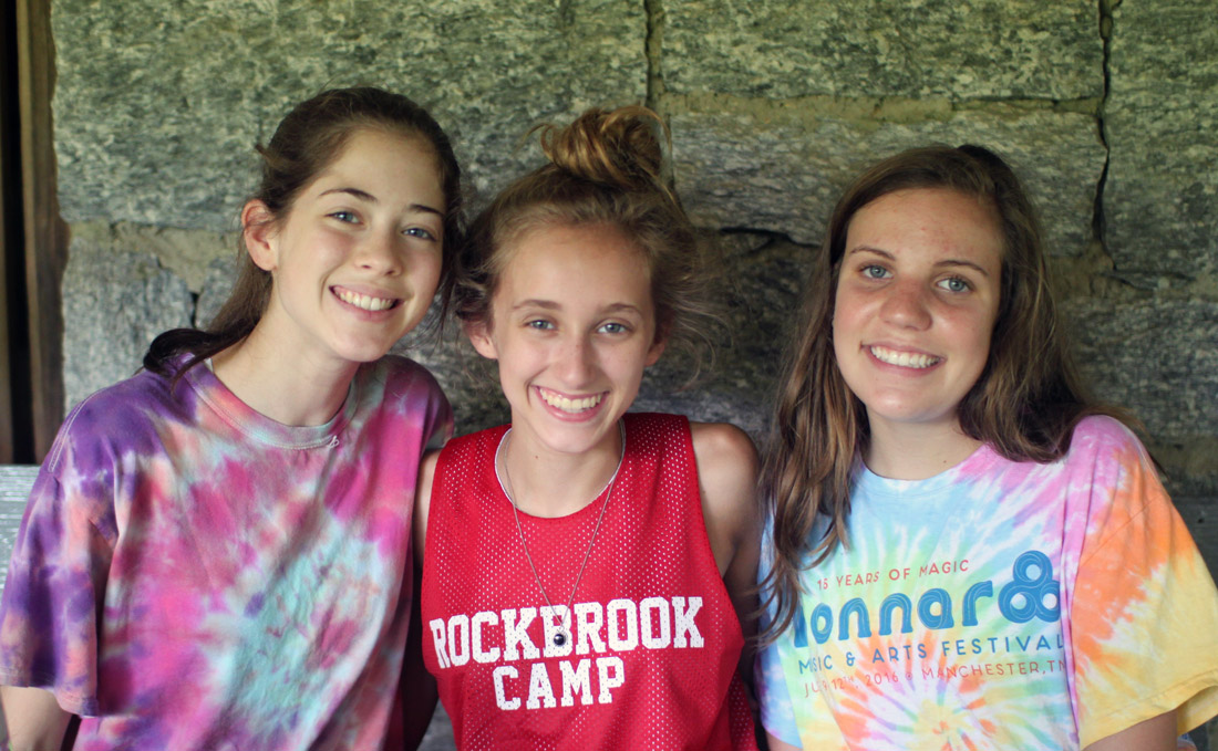 Girls Love Camp Friends