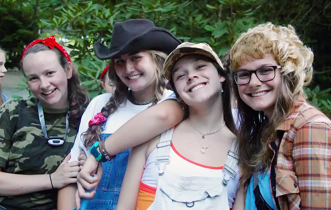 country costume camp counselors