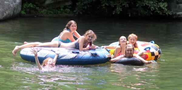 summer camp free swim