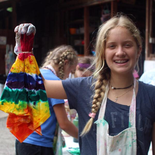 Girl's Tie Dye Pride
