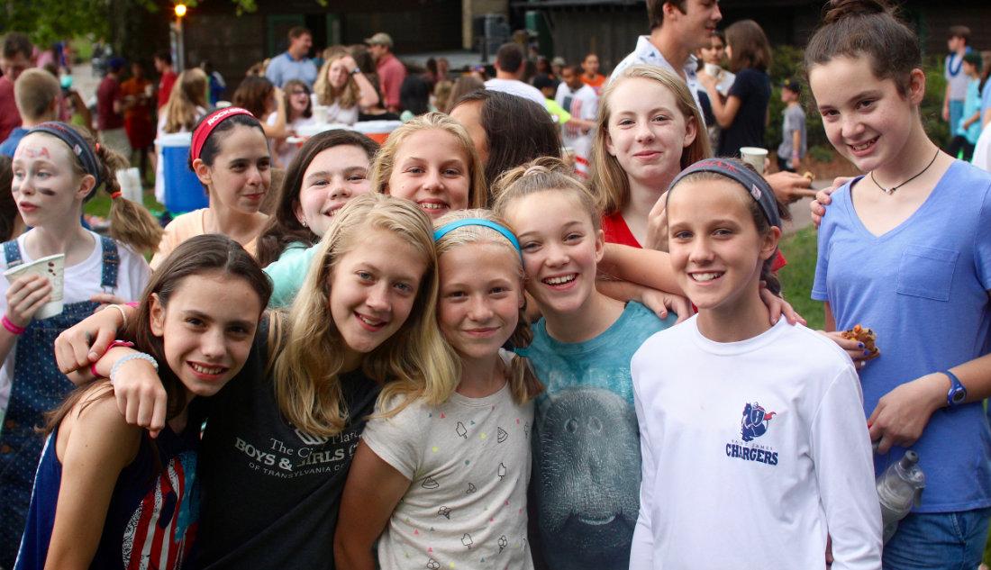 Girls Camp Rockmont Dance