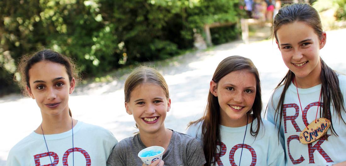 Girls Summer Camp Campers