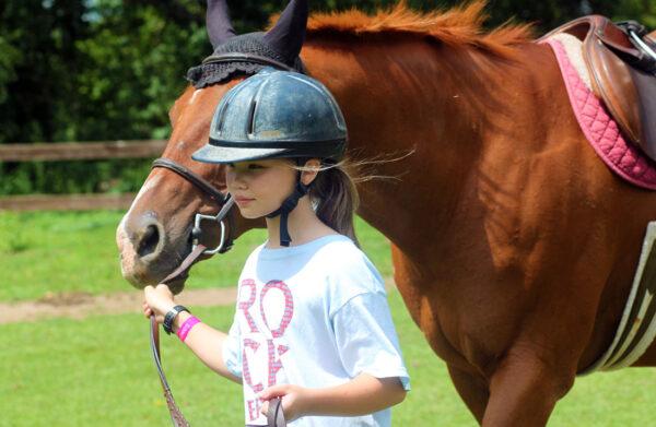 horse camp leading