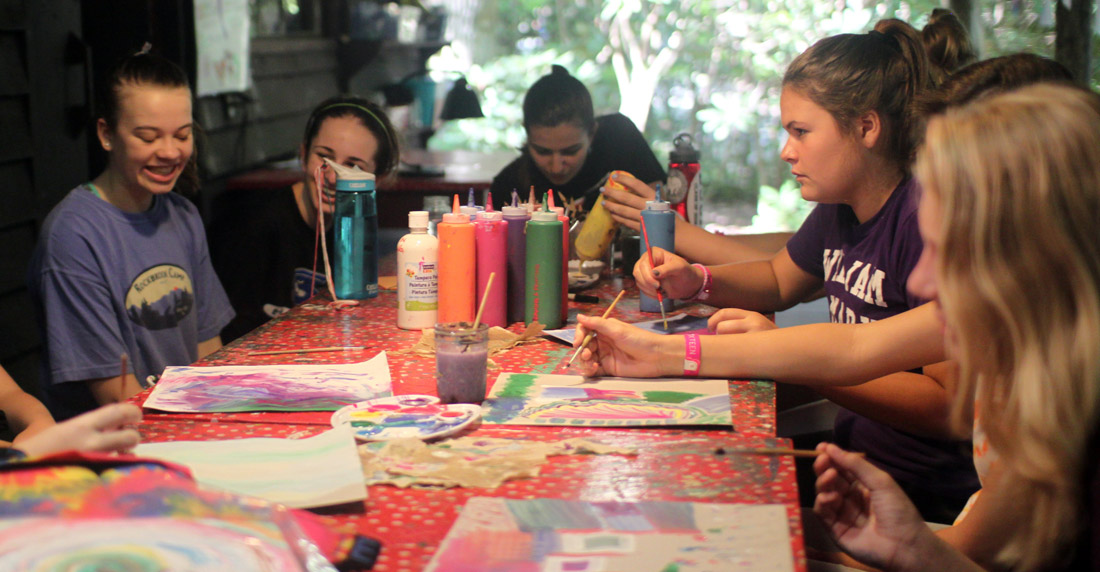 Painting Class summer camp