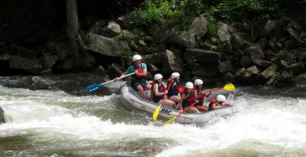 Rafting Girls Camp