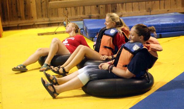 swimming lifegaurds camp skit