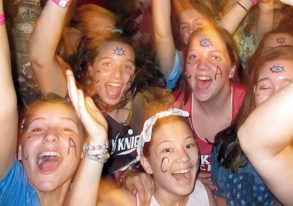 Teenage Girls Camp Dance