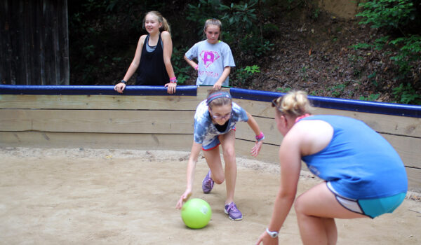 gaga ball game