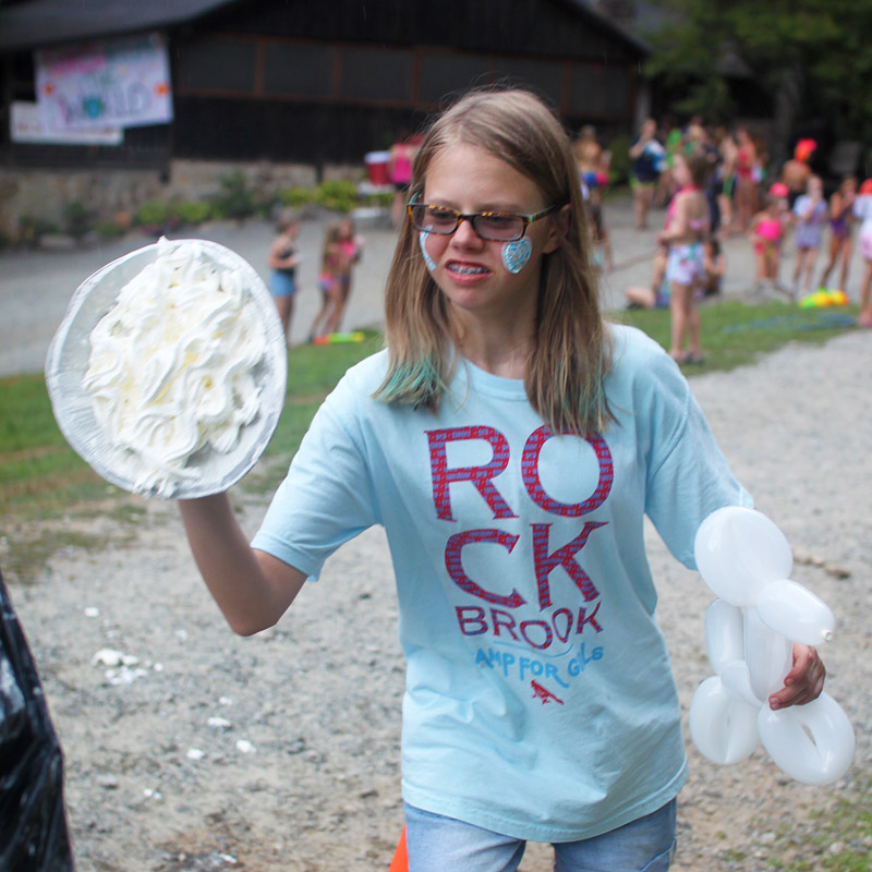 Pie Throwing Girl