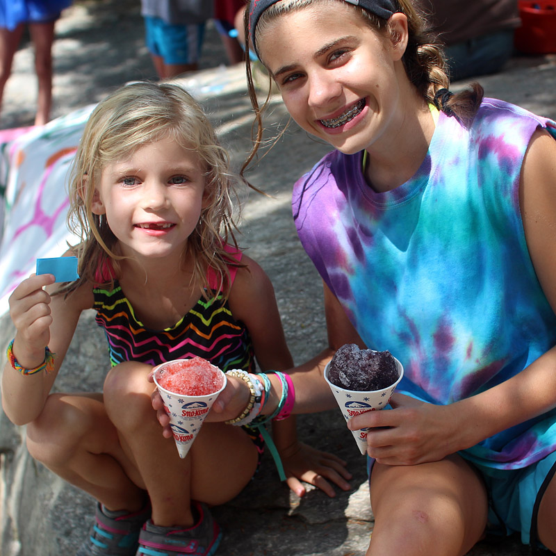 Snow cone girls