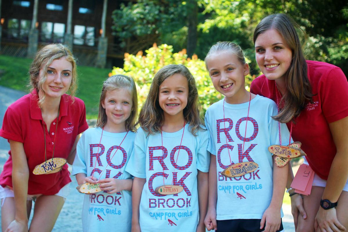 Summer Girls Camp Arrivals