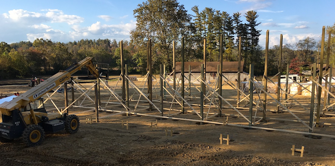 camp horse barn construction