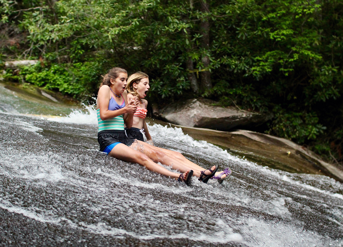 NC Sliding Rock Kids