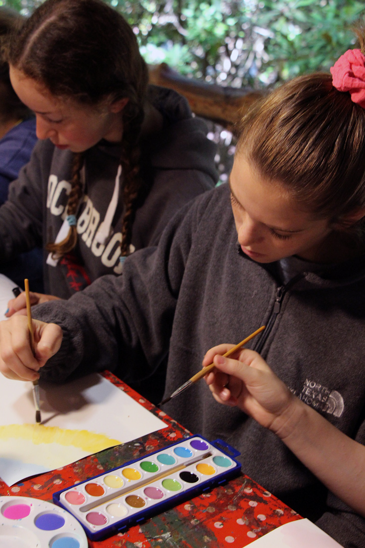 Camp Painting Class