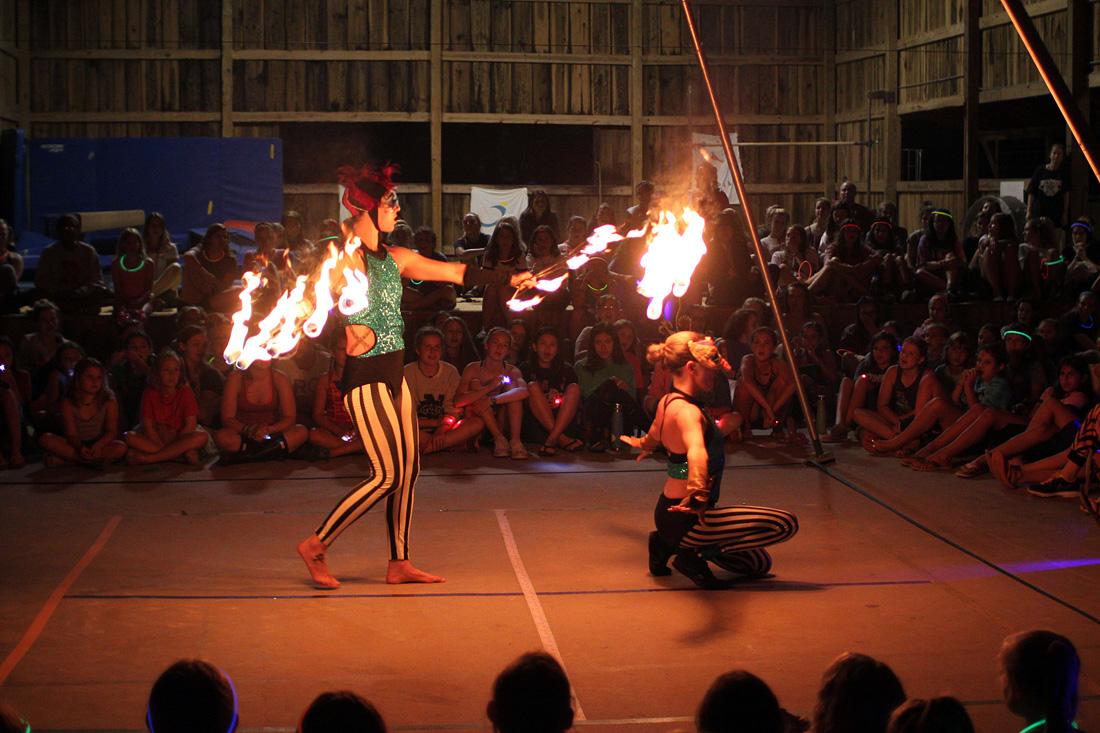 Fire Acrobats