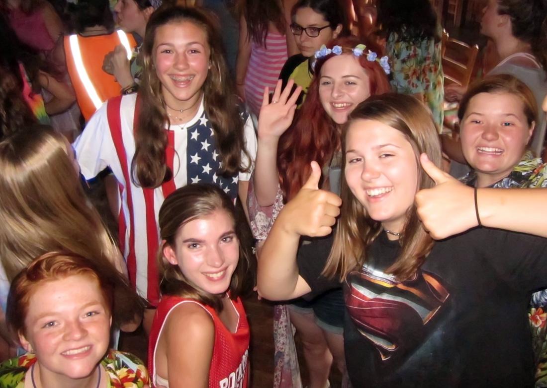 Girls Summer Camp Dance