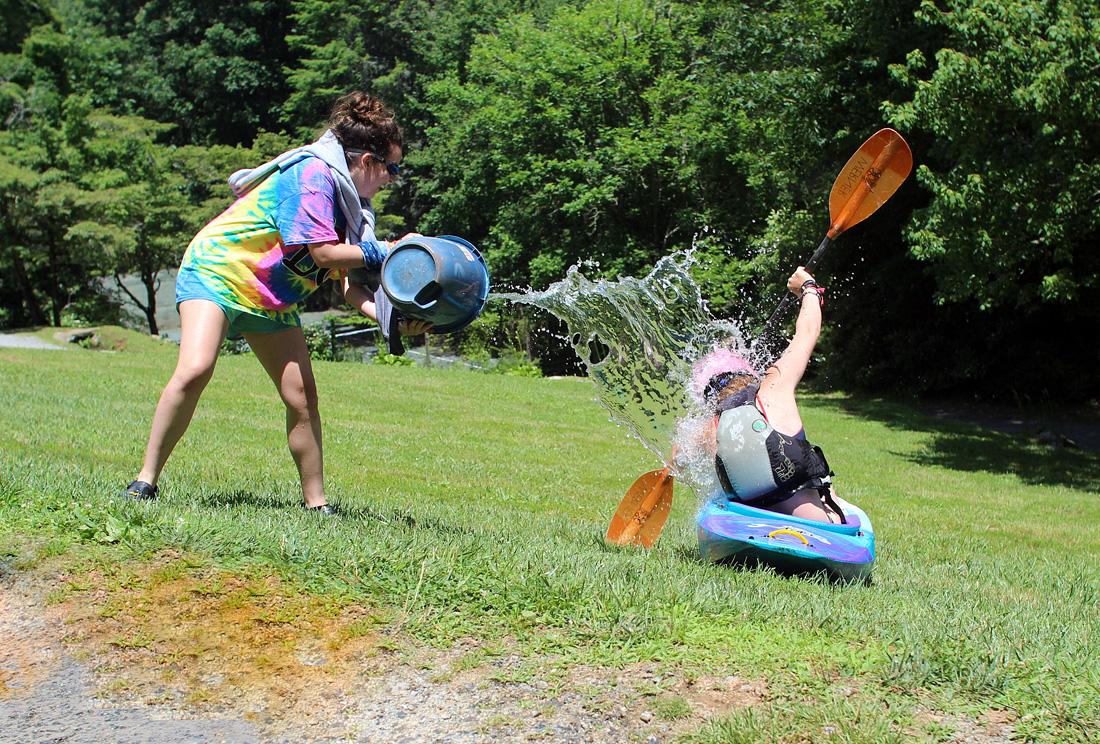 Kayaking Skit