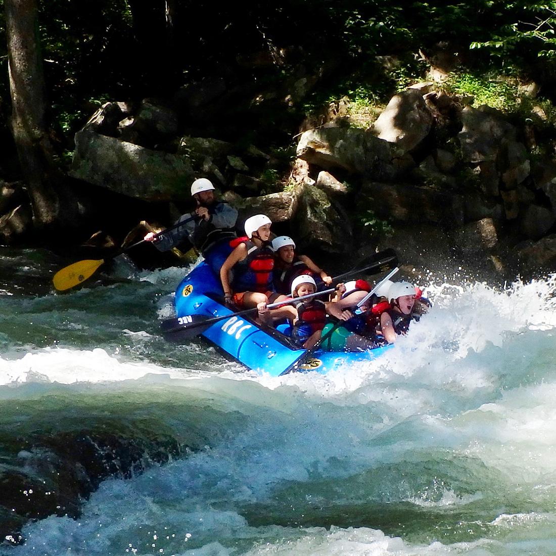 Nantahala Kids Rafting