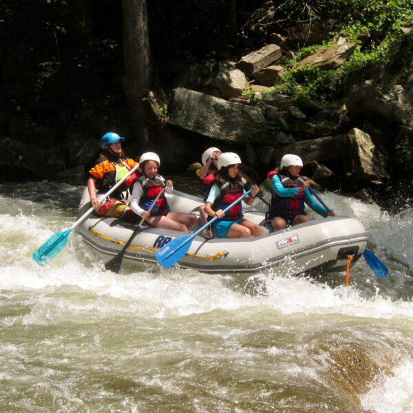 NC kids whitewater trip