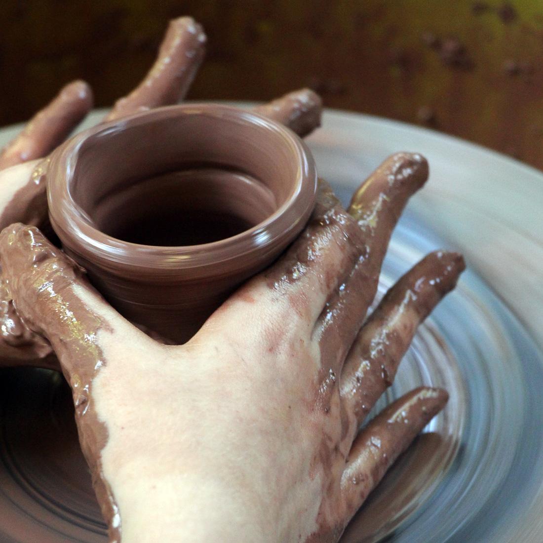 Pottery Wheel Hands
