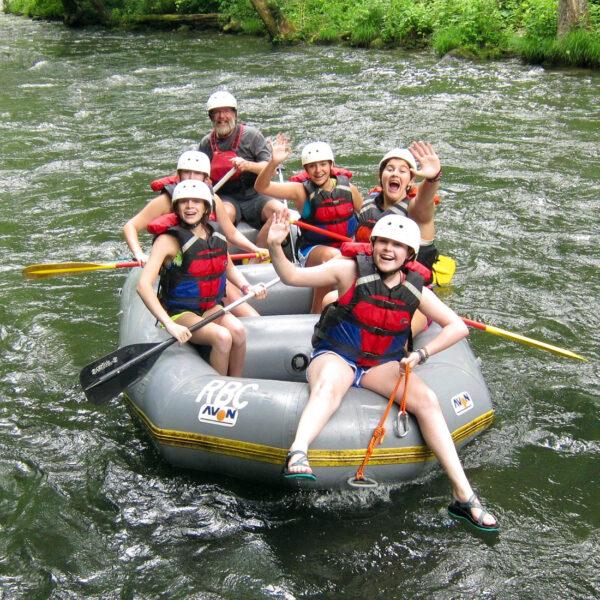 Rafting NC Kids
