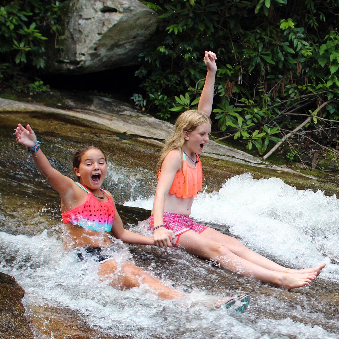 Sliding Rock Cheer
