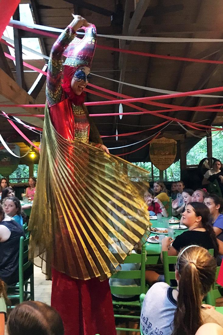 Stilt Circus Dining Hall