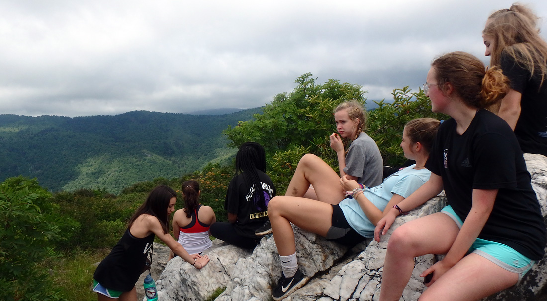 NC Hike Overlook