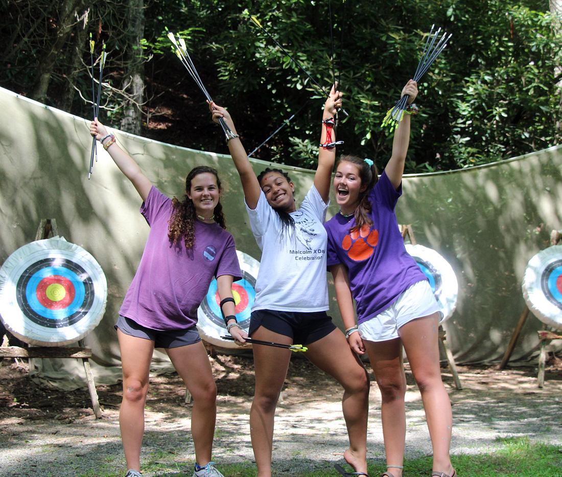 archery camp girls