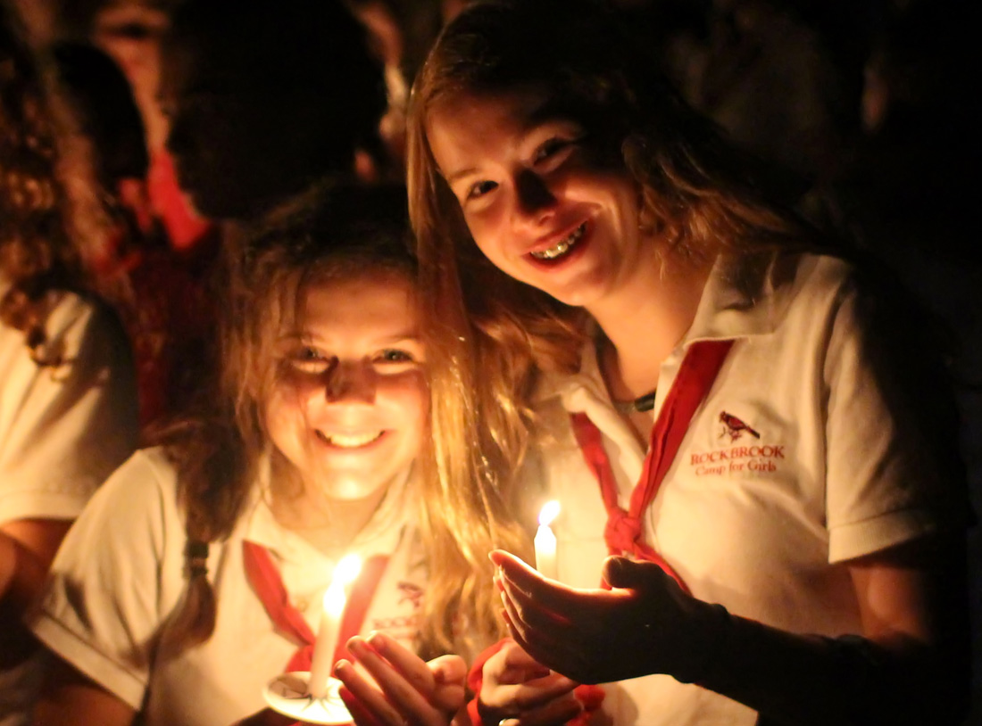 Candle Light camp Girls