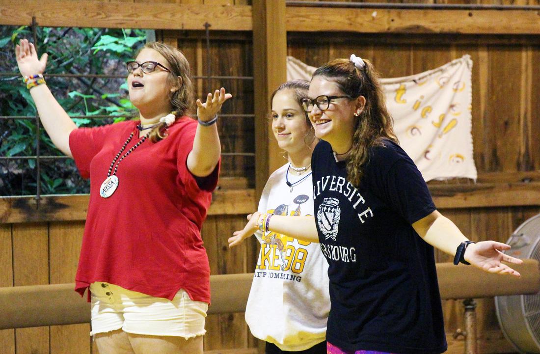 Camp Counselor Skit