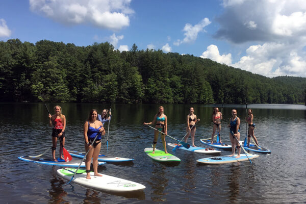 Camp Paddle Boarding