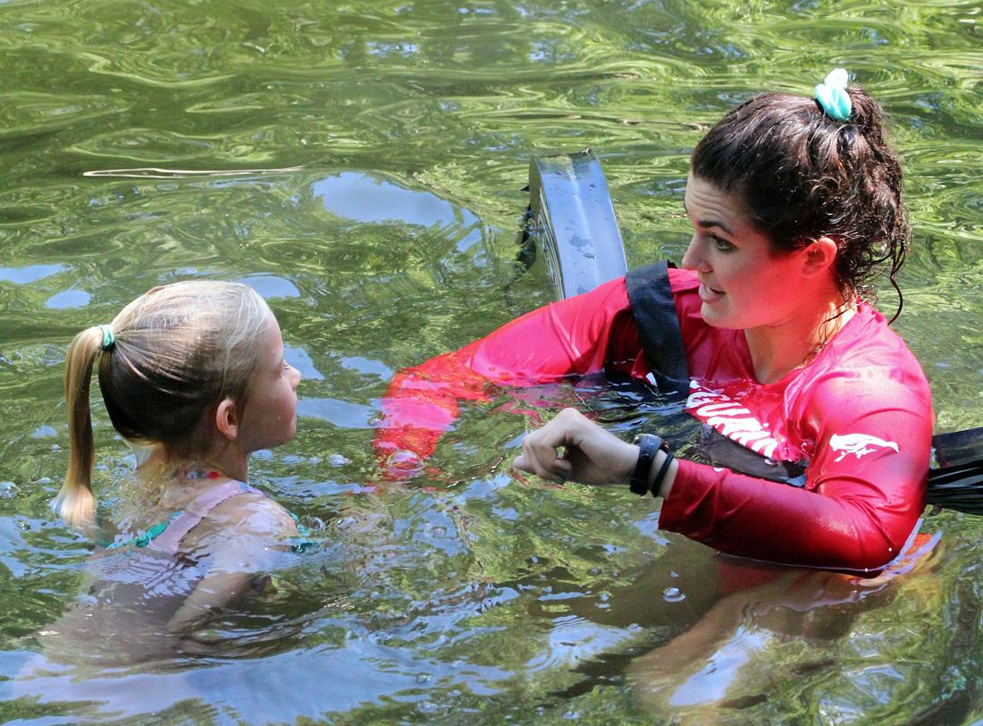 Camp Swimming test