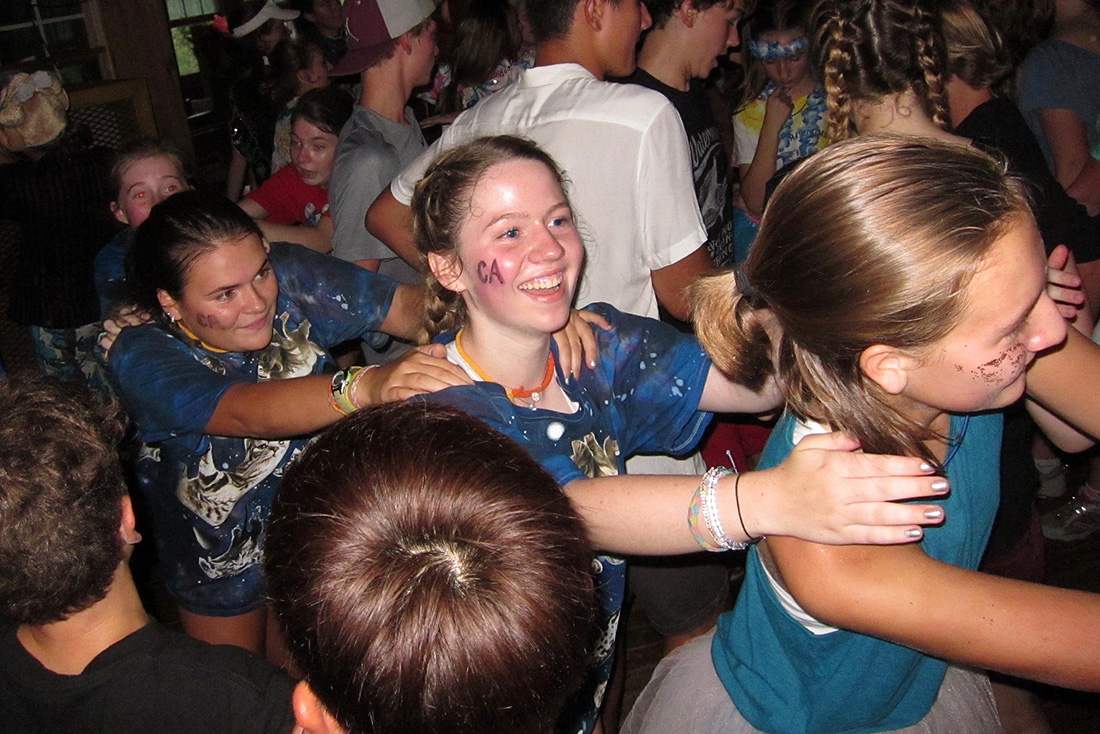 Camp teen dance
