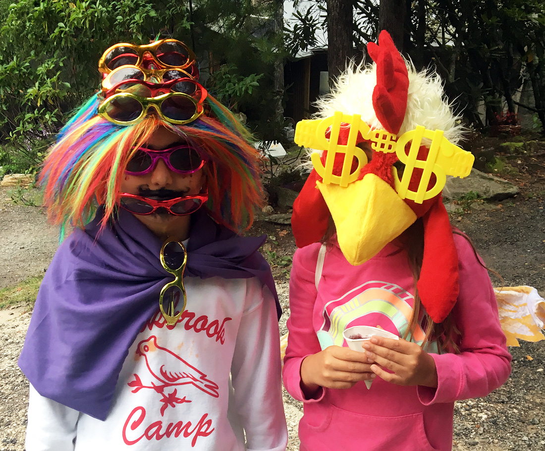 Girls silly costumes
