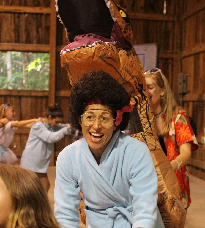 granny costume dance