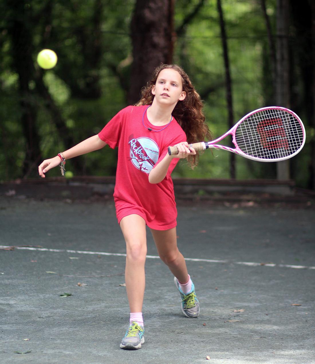 tennis camp girl