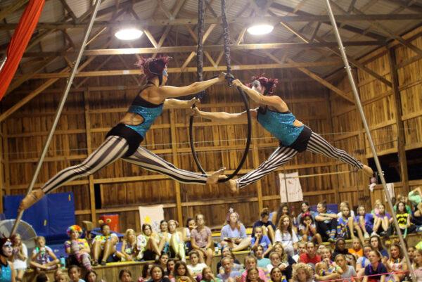 circus acrobat show