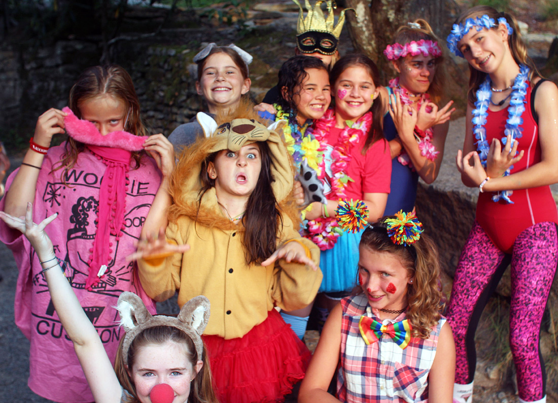 crazy summer camp costumes