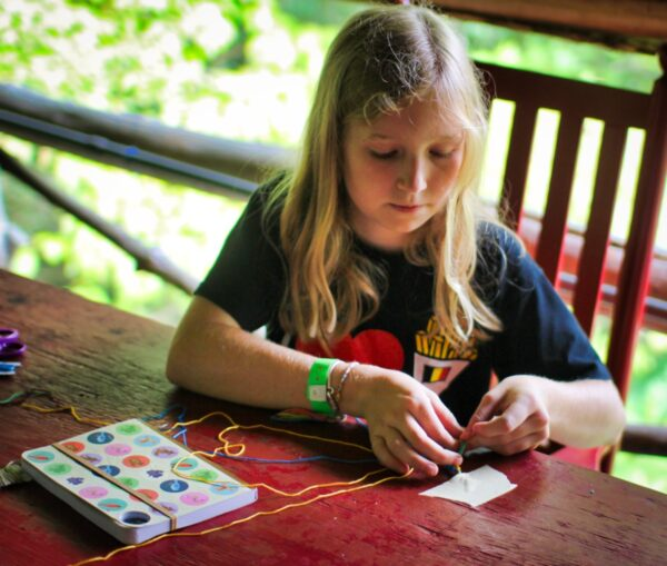 Camp Girl string project