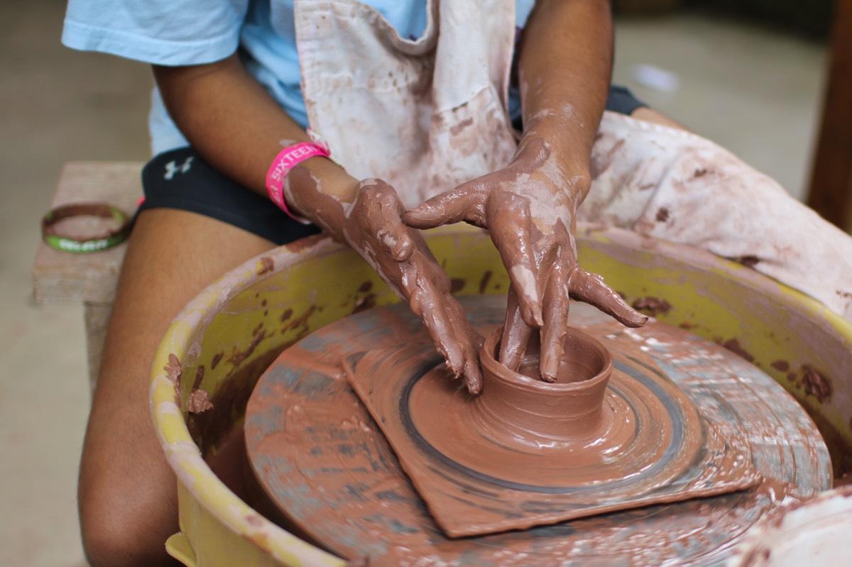 Potters Wheel Hands