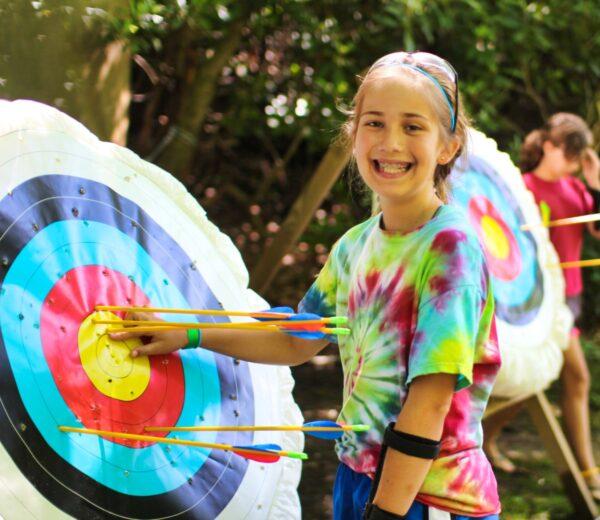 Archery Bullseye Kid