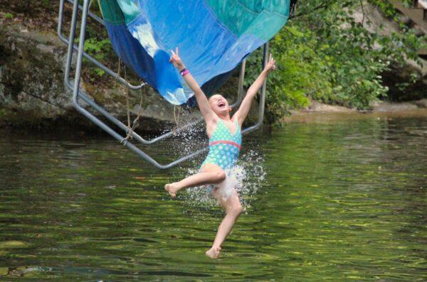 Water slide thrill