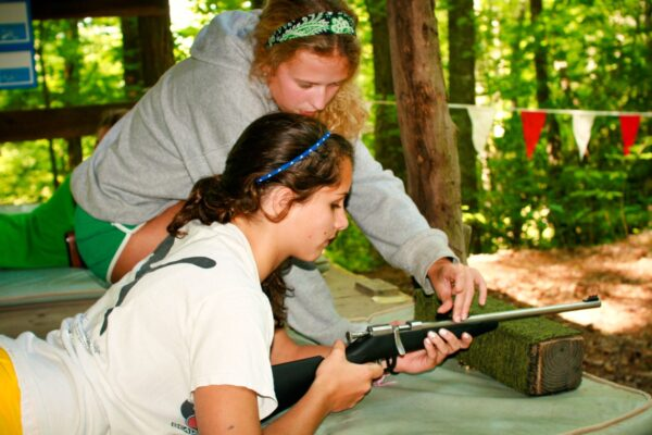 Riflery Sports Camp Girl