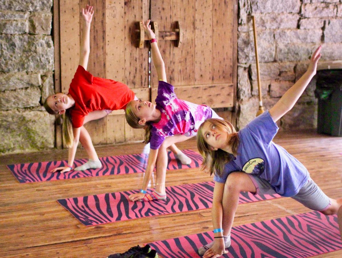 Yoga Camp Girls