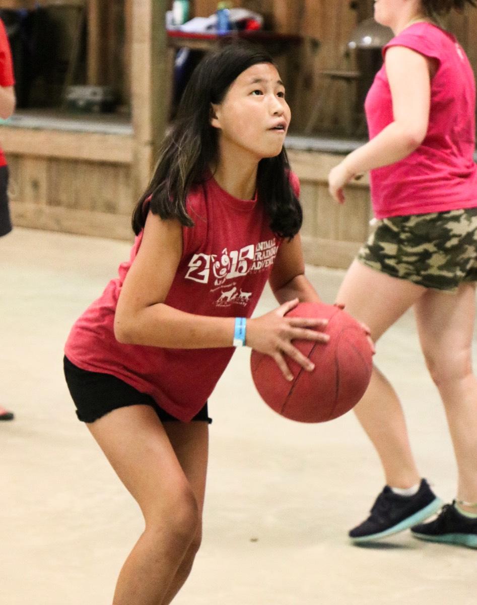 basketball camp game
