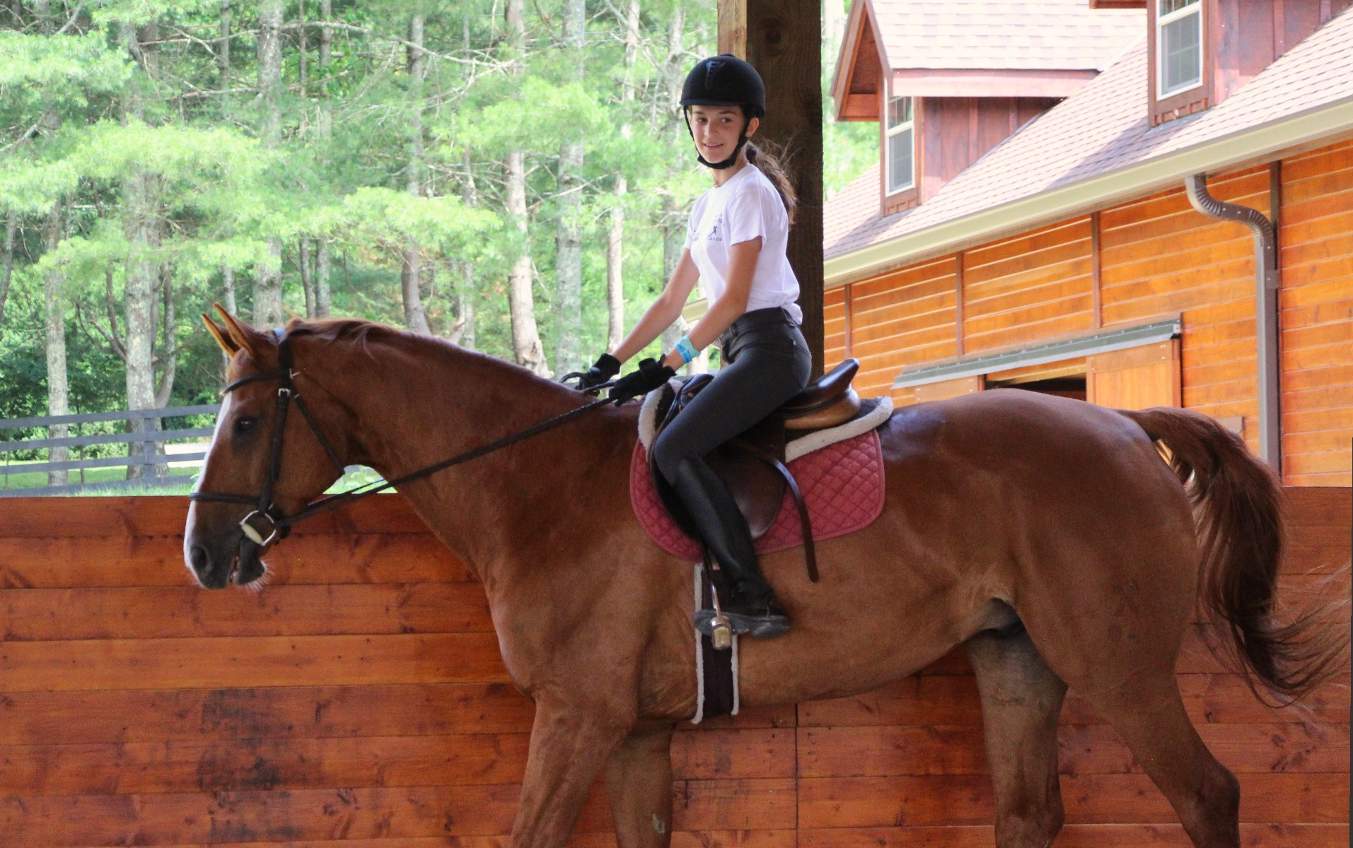 girl camp equestrian