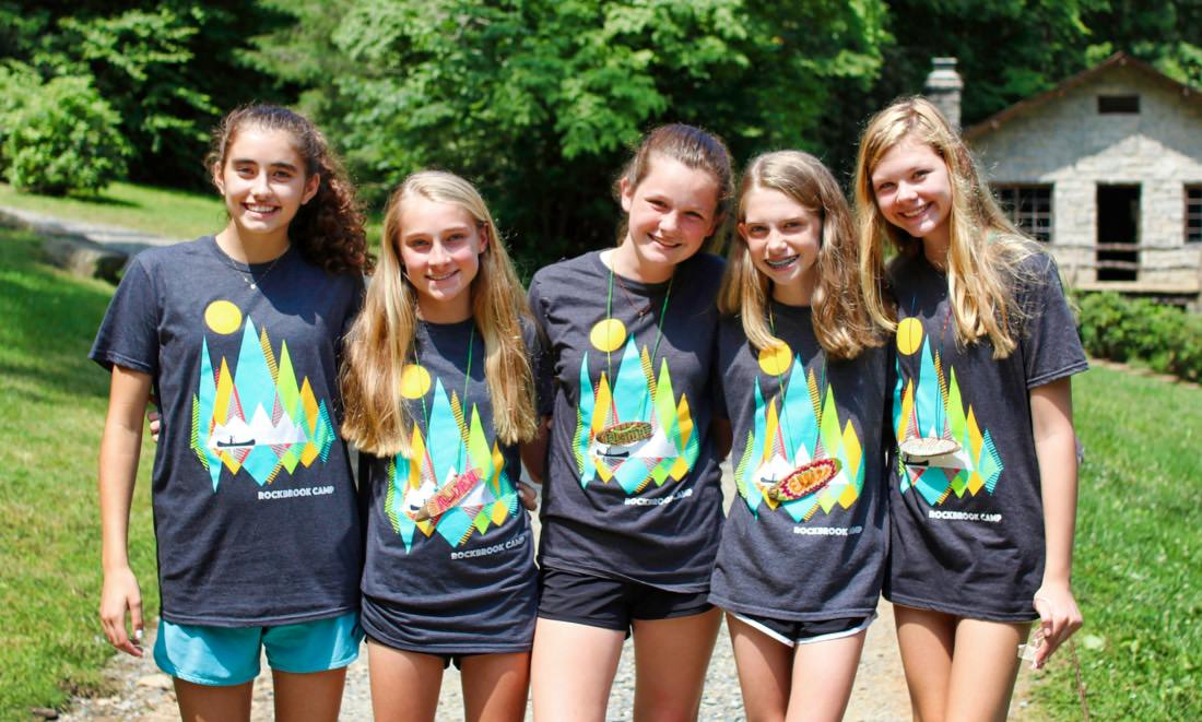 Summer Camp Girls Arrive