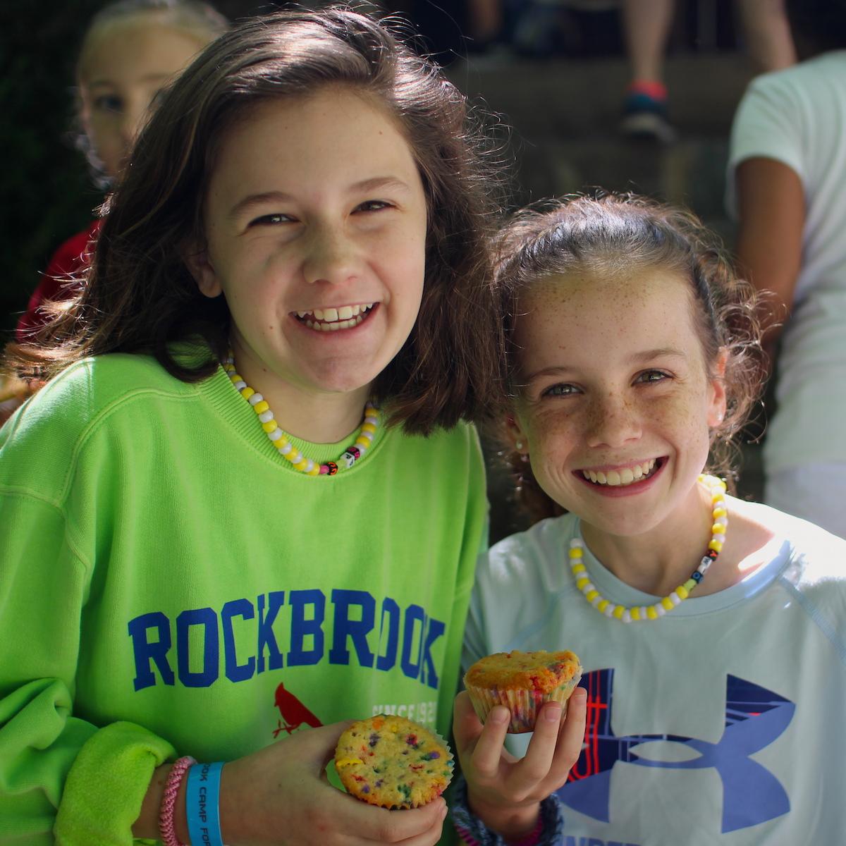 Camp muffin snack break