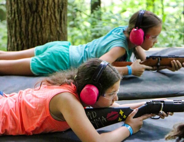Rifle Shooting Children